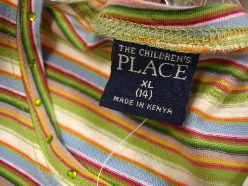 made in kenya @ children´s place store in philly
