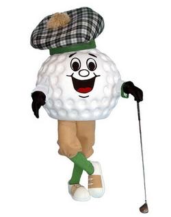 Golf-maskottchen