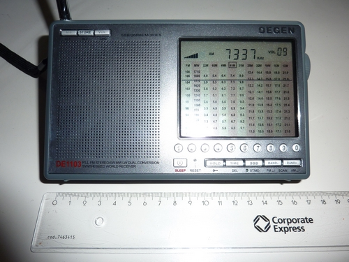 Picture of Degen DE1103 world receiver