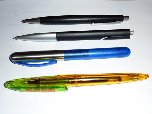 4 favorisierte Schreibgeräte