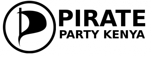 (Pirate Party Kenya logo courtesy of H.E. Kahenya Kamunyu, CC-BY-SA 2.0)