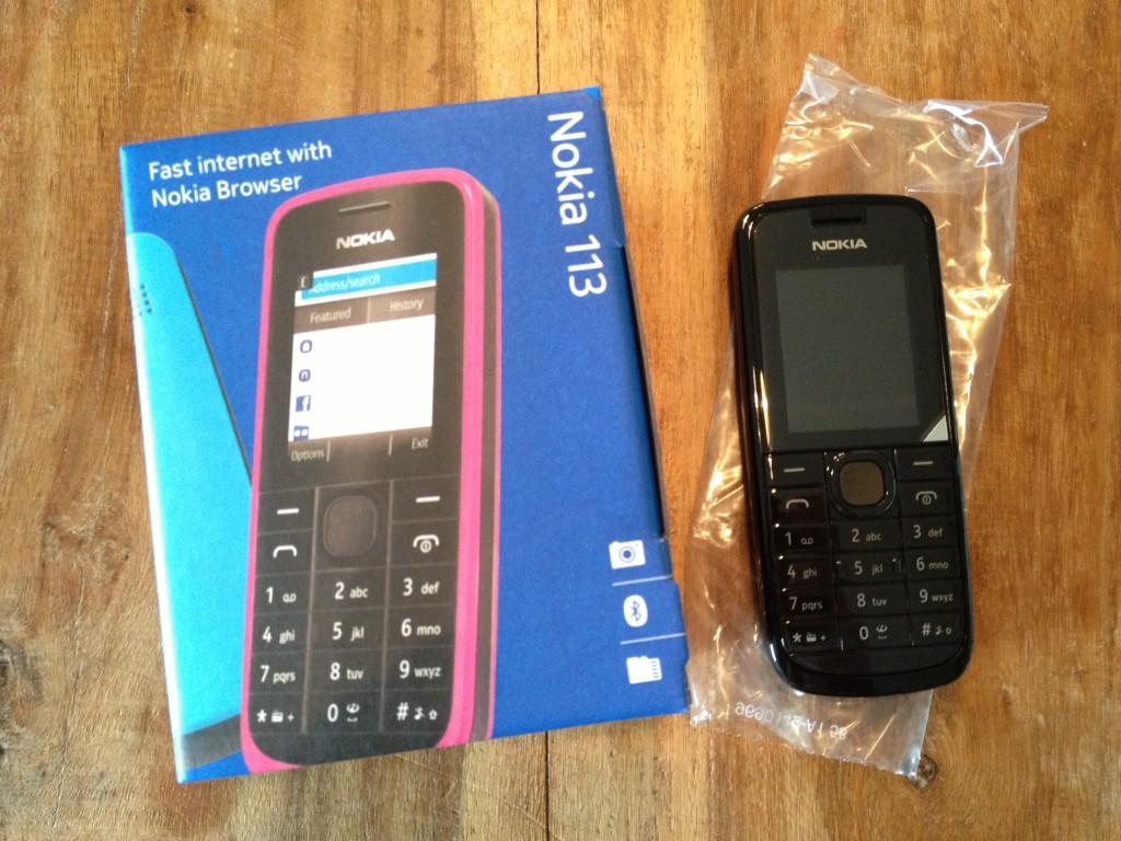 Nokia 113 ohne Netlock