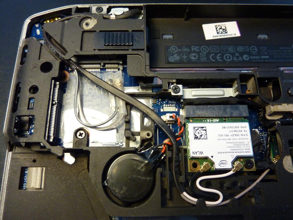 WWAN modem port on the Dell Latitude E6430