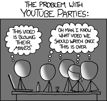 Another brilliant one via XKCD (src: http://xkcd.com/920/)