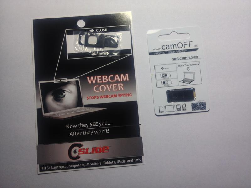 Webcam Schiebeschalter