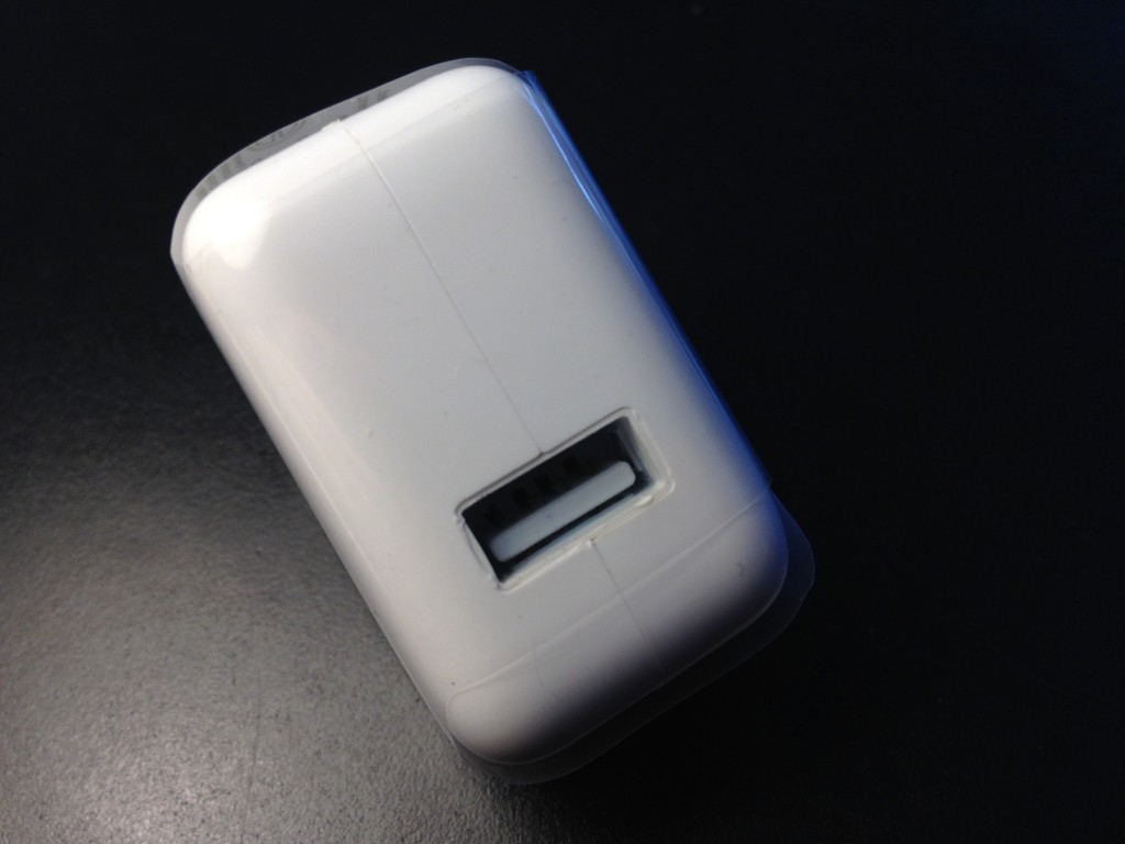 fake Apple A1401 charger