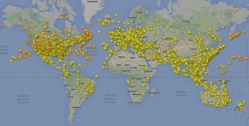 ADS B Coverage Map Flightradar24