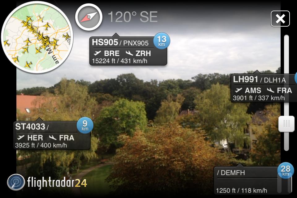 Flightradar24-AugReal