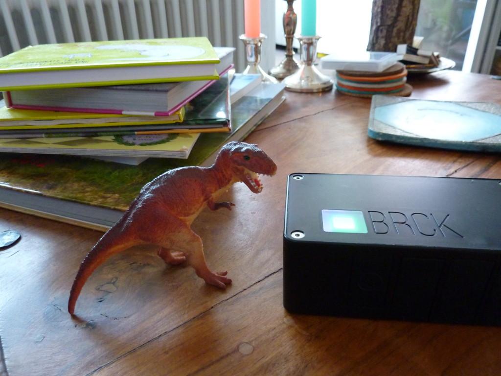 Ein Dino zum Größenvergleich