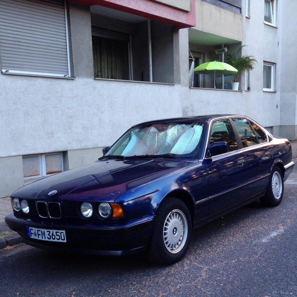 Der letzte Tag nach 20 Jahren im Familienbesitz: BMW E34.