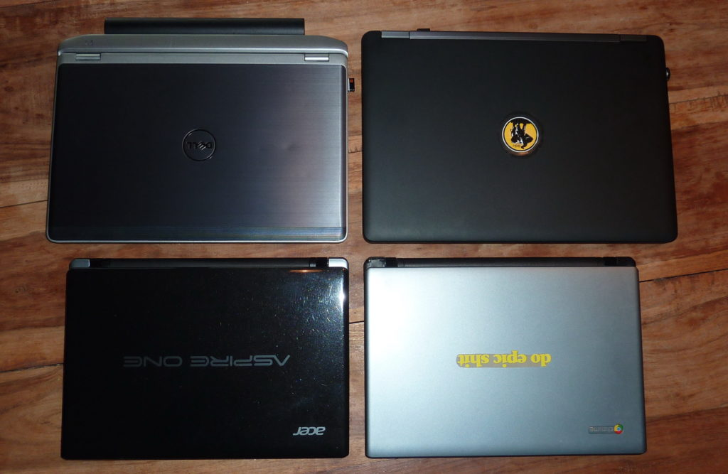 Dell Latitude E6220, Dell Latitude E5450, Acer Aspire One 756, Acer Chromebook C710
